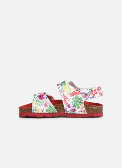 Sandalen Kickers Summerkro weiß ansicht von vorne