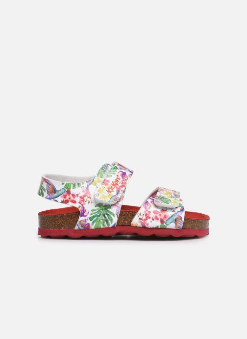 Sandales et nu-pieds Kickers Summerkro Blanc vue derrière