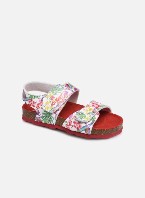 Sandalen Kickers Summerkro weiß detaillierte ansicht/modell