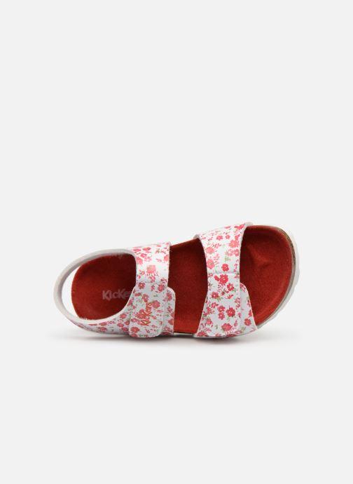 Sandalen Kickers Summerkro Wit links