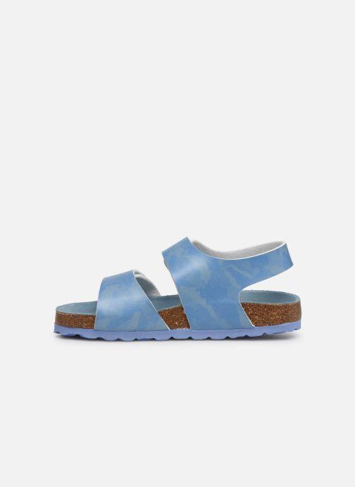 Sandales et nu-pieds Kickers Summerkro Bleu vue face