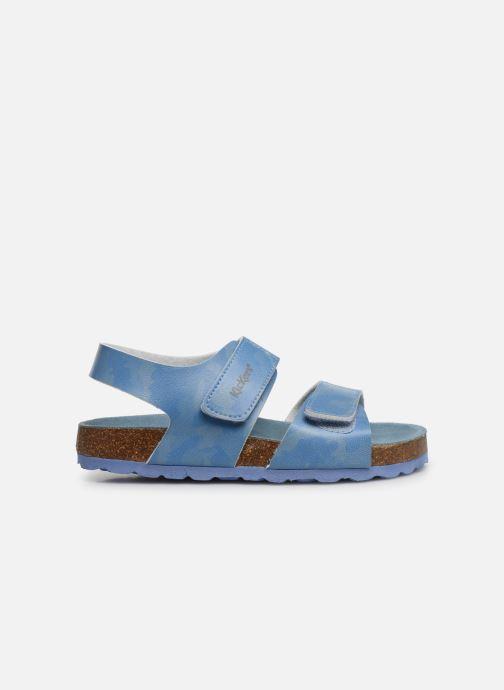 Sandales et nu-pieds Kickers Summerkro Bleu vue derrière