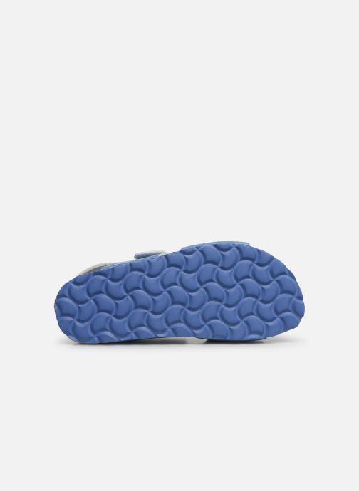 Sandales et nu-pieds Kickers Summerkro Bleu vue haut
