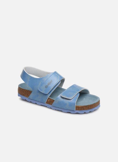 Sandales et nu-pieds Kickers Summerkro Bleu vue détail/paire