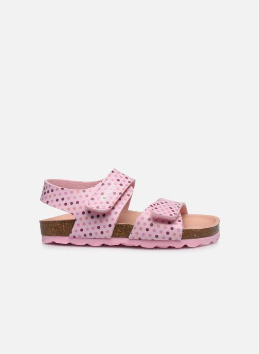 Sandales et nu-pieds Kickers Summerkro Rose vue derrière