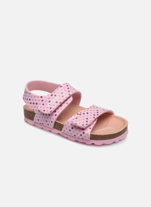 Sandales et nu-pieds Kickers Summerkro Rose vue détail/paire