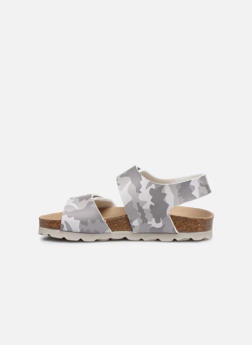 Sandales et nu-pieds Kickers Summerkro Gris vue face