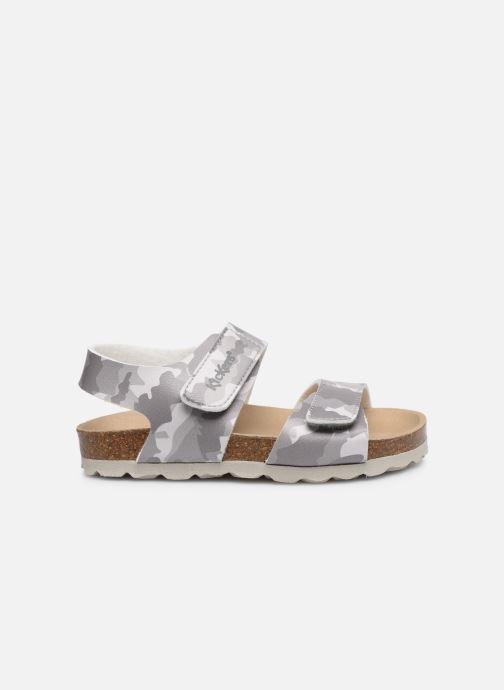 Sandales et nu-pieds Kickers Summerkro Gris vue derrière