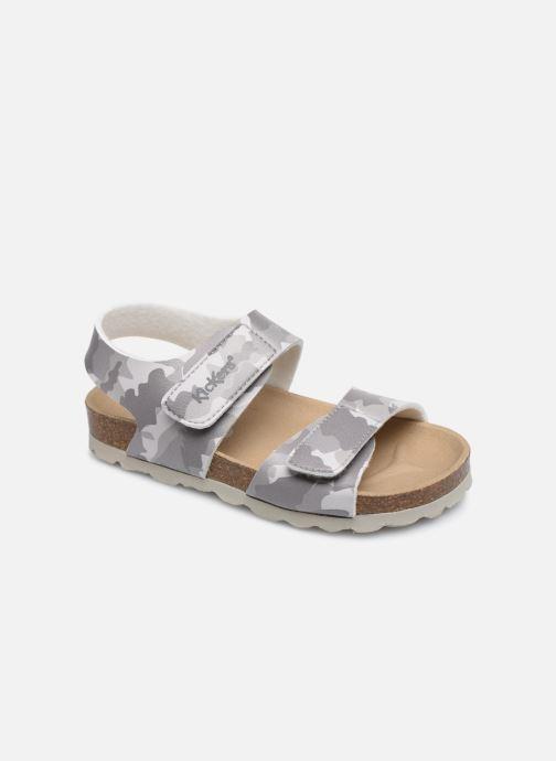Sandales et nu-pieds Kickers Summerkro Gris vue détail/paire