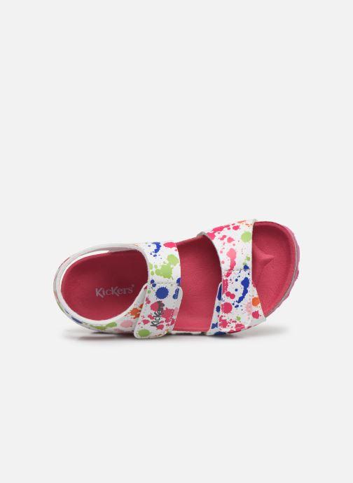 Sandali e scarpe aperte Kickers Summerkro Bianco immagine sinistra