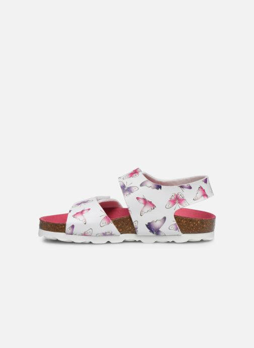 Sandales et nu-pieds Kickers Summerkro Blanc vue face