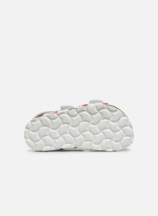 Sandali e scarpe aperte Kickers Summerkro Bianco immagine dall'alto