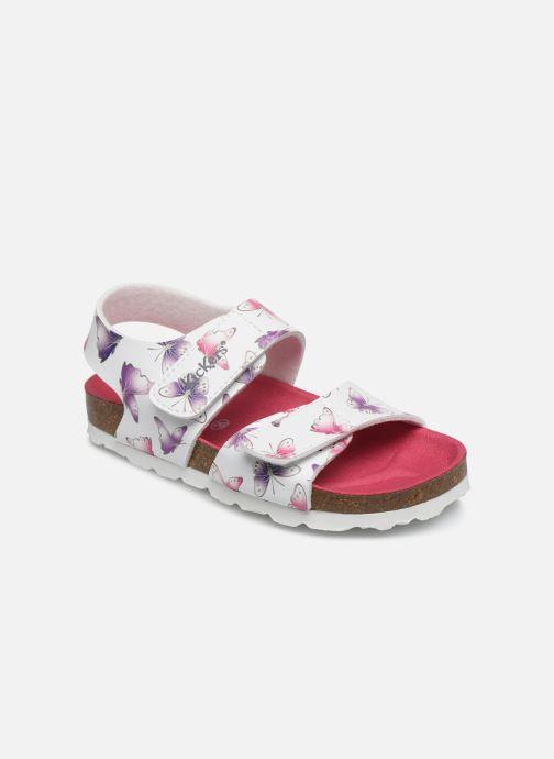 Sandales et nu-pieds Kickers Summerkro Blanc vue détail/paire
