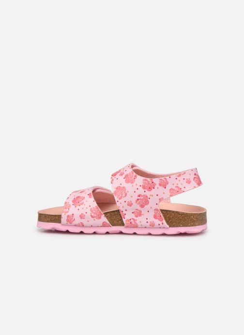 Sandalen Kickers Summerkro rosa ansicht von vorne