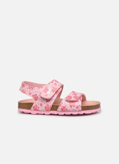 Sandalen Kickers Summerkro rosa ansicht von hinten