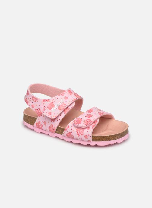 Sandalen Kickers Summerkro rosa detaillierte ansicht/modell