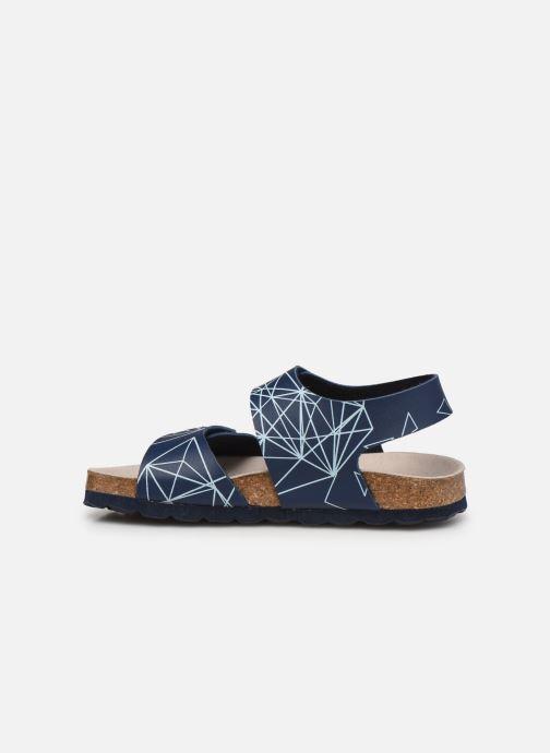Sandali e scarpe aperte Kickers Summerkro Azzurro immagine frontale