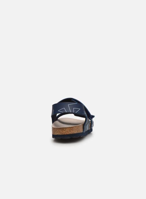Sandali e scarpe aperte Kickers Summerkro Azzurro immagine destra