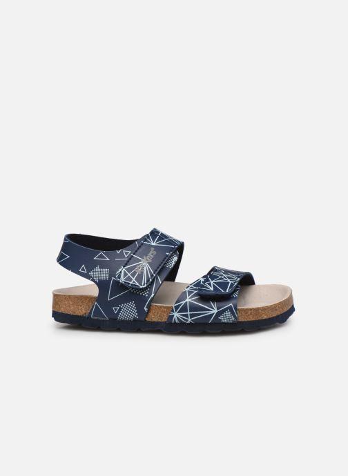 Sandali e scarpe aperte Kickers Summerkro Azzurro immagine posteriore