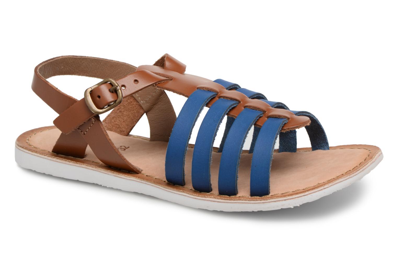Sandales et nu-pieds Kickers Sparta Bleu vue détail/paire