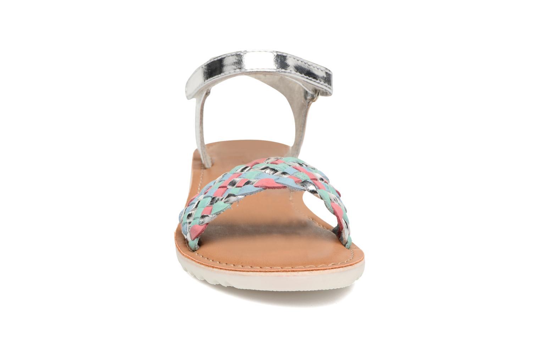 Sandales et nu-pieds Kickers Brazil Multicolore vue portées chaussures