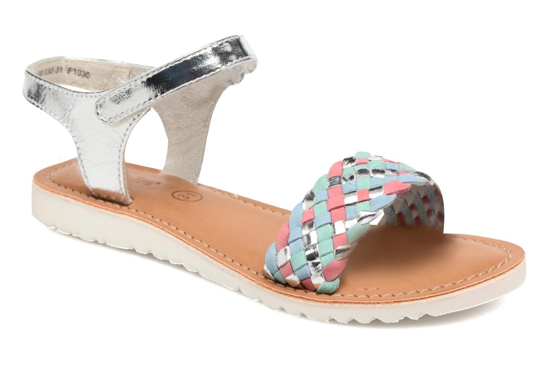 Sandales et nu-pieds Kickers Brazil Multicolore vue détail/paire