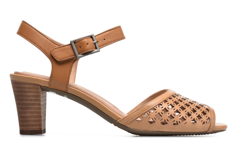 Sandali e scarpe aperte Rockport Audrina Laser 2 Piece Marrone immagine posteriore