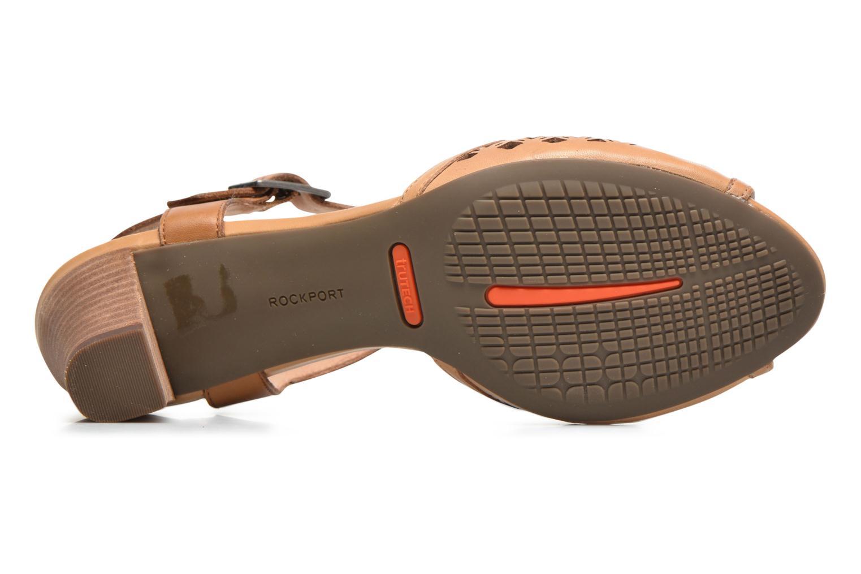 Sandali e scarpe aperte Rockport Audrina Laser 2 Piece Marrone immagine dall'alto