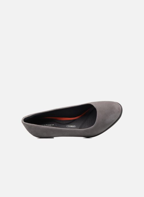 High heels Rockport Melora Plain Pump Grey view from the left