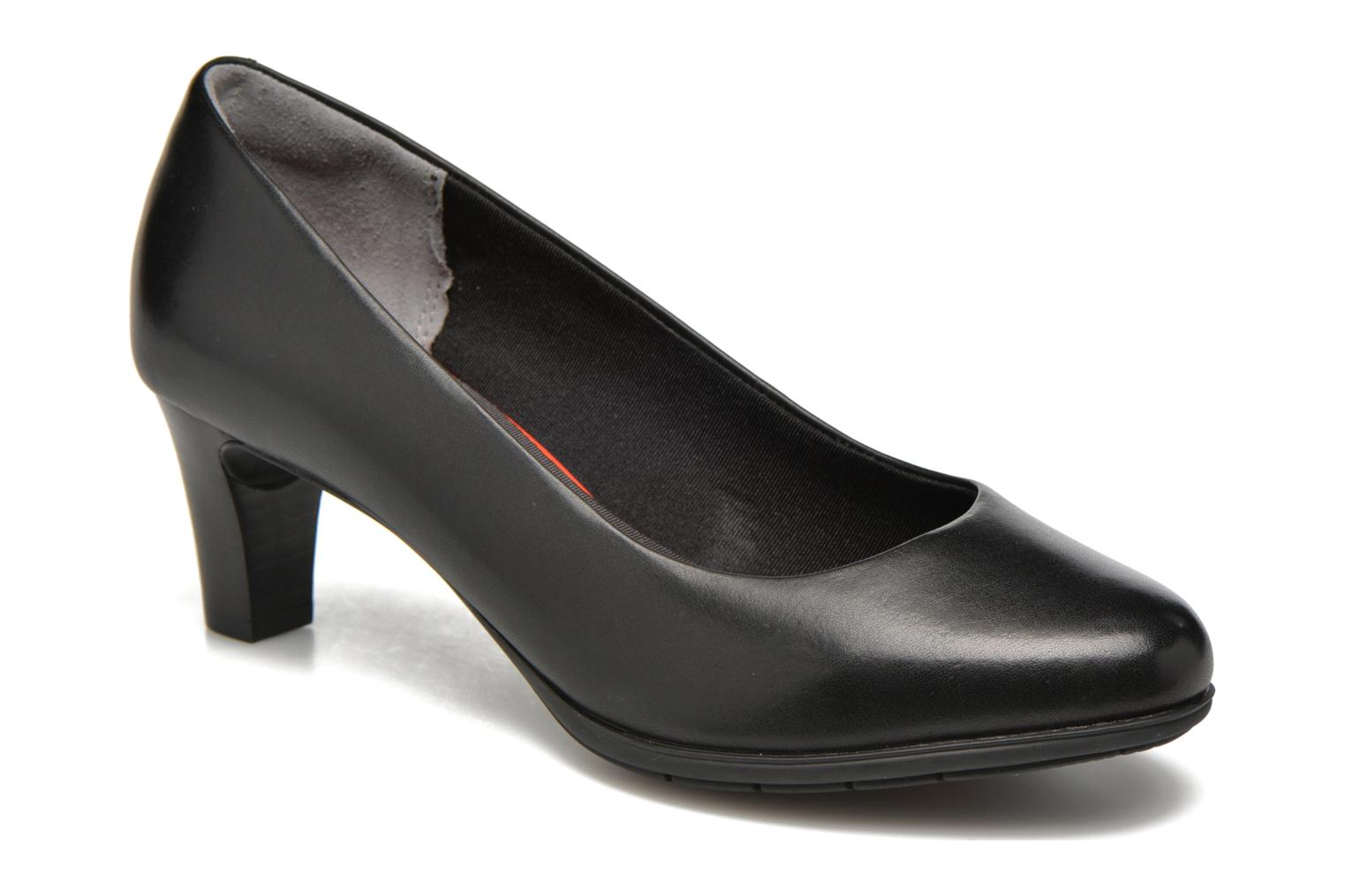 High heels Rockport Melora Plain Pump Black detailed view/ Pair view