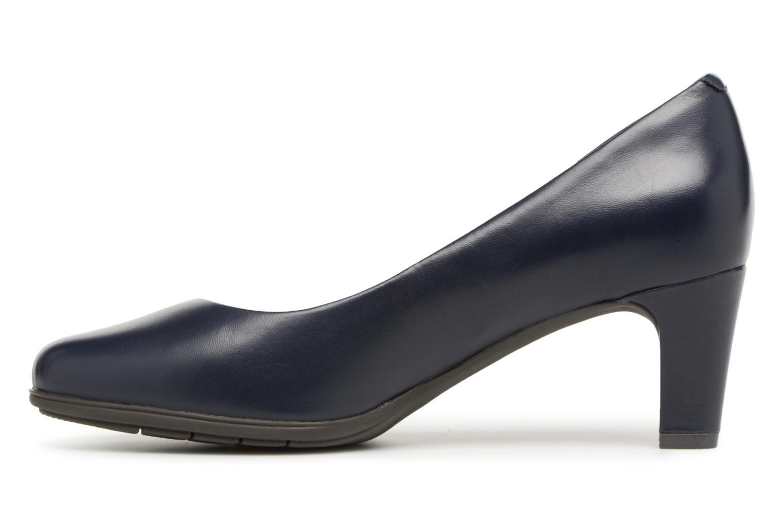 Zapatos de tacón Rockport Melora Plain Pump Azul vista de frente