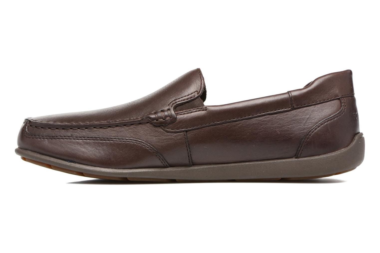Loafers Rockport Bl4 Venetian Brun se forfra