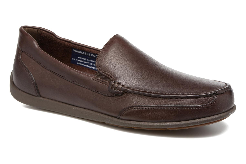 Loafers Rockport Bl4 Venetian Brun detaljeret billede af skoene