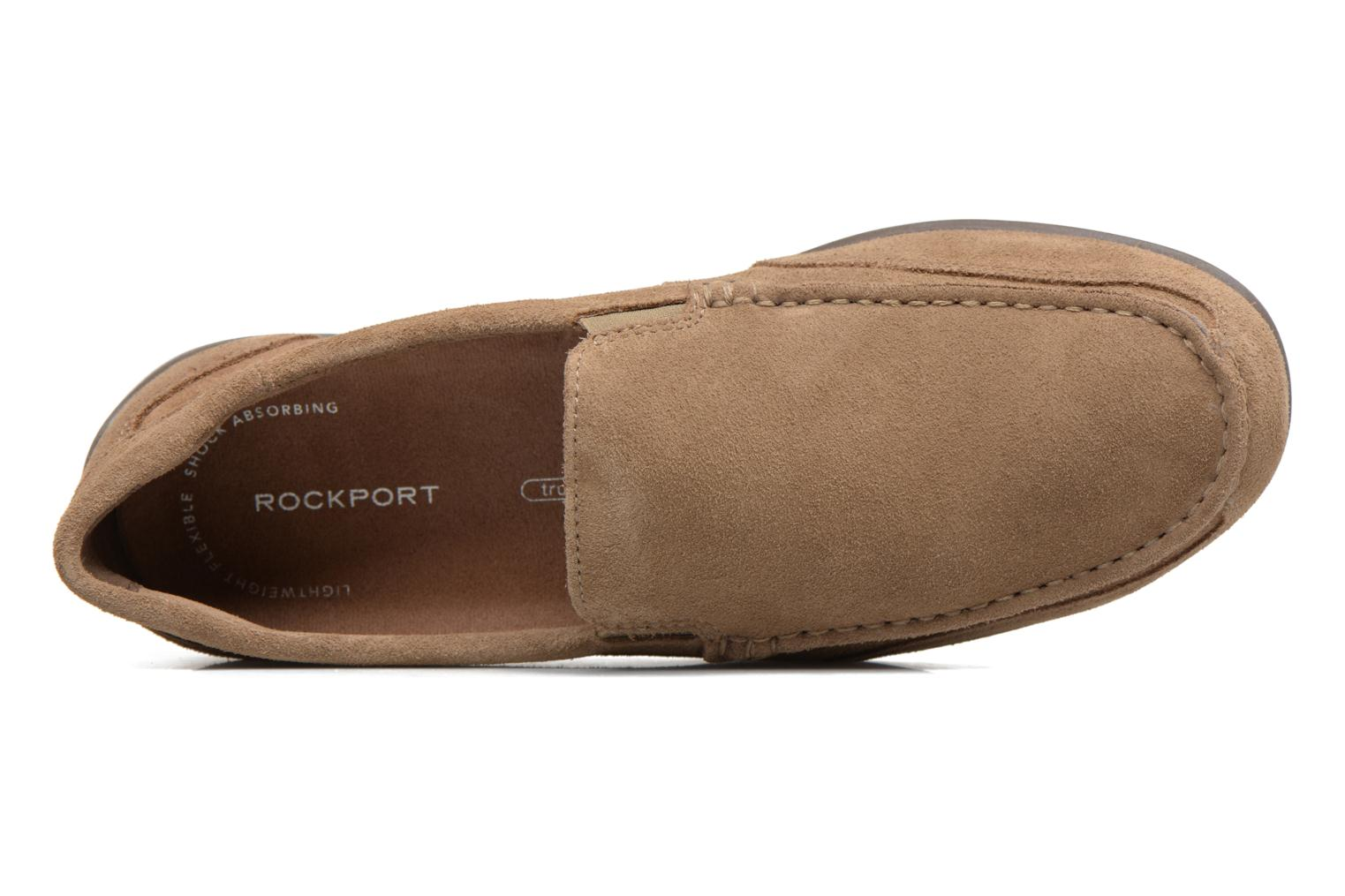 Slipper Rockport Bl4 Venetian beige ansicht von links