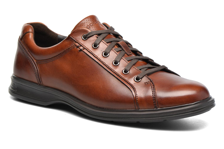 Chaussures à lacets Rockport Dp2 Lite Lace Up Marron vue détail/paire