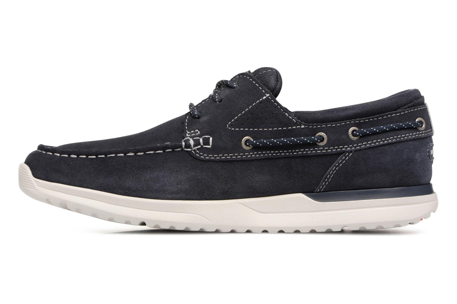Lace-up shoes Rockport Langdon 3 Eye Ox Blue front view