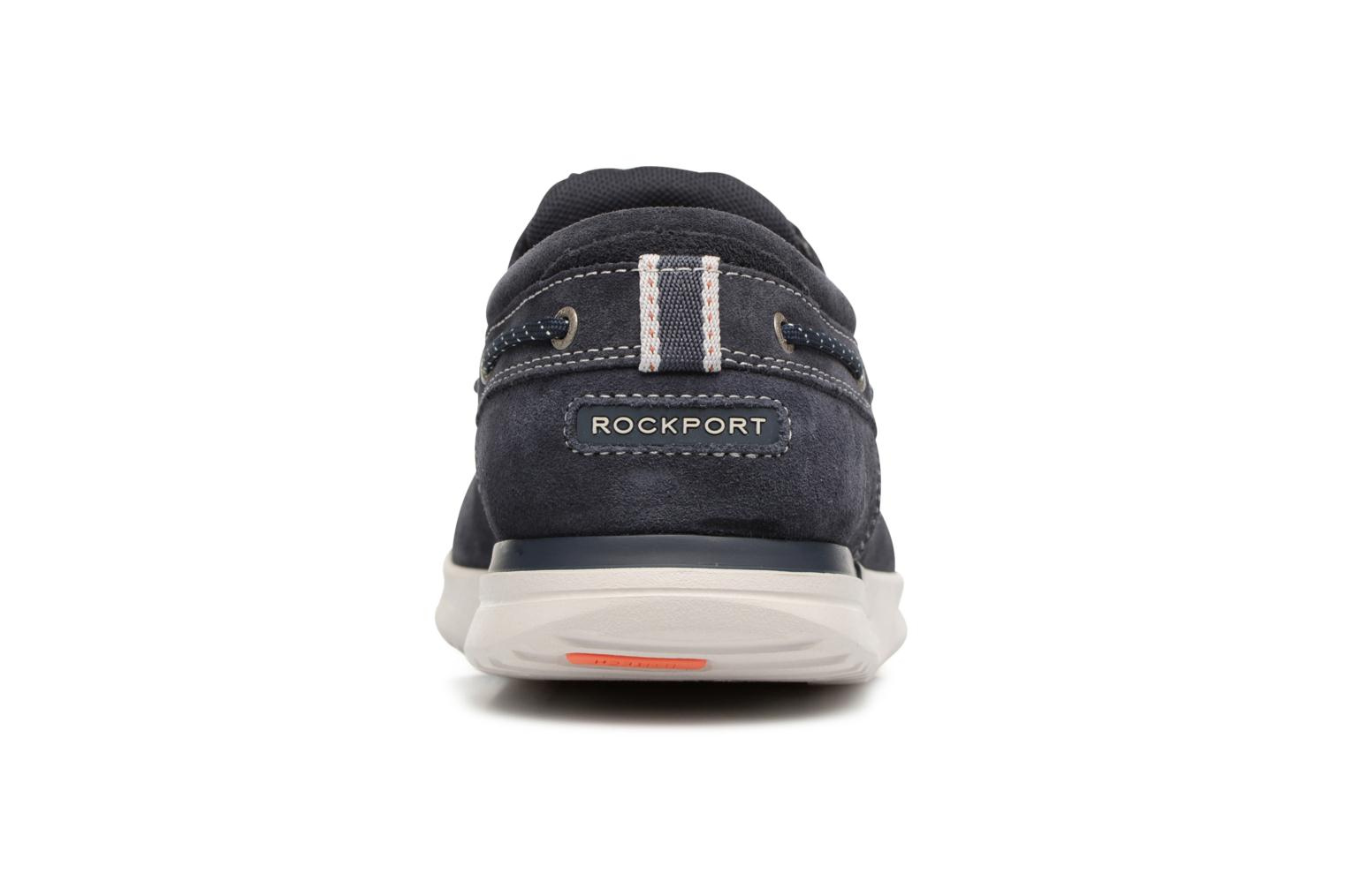 Lace-up shoes Rockport Langdon 3 Eye Ox Blue view from the right