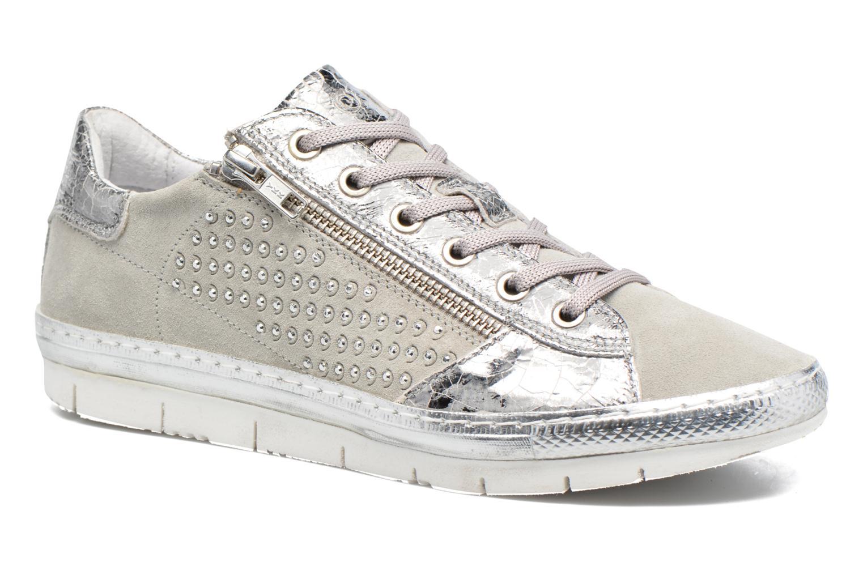 Sneakers Khrio Cristal Zilver detail