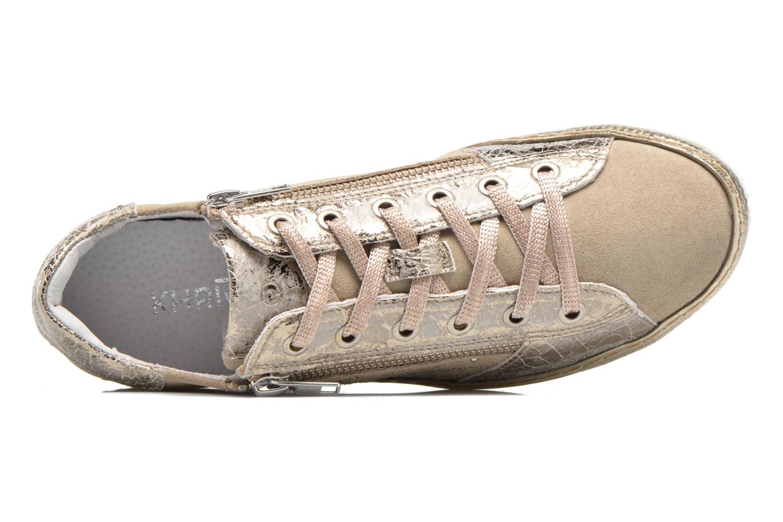 Sneakers Khrio Cristal Beige immagine sinistra