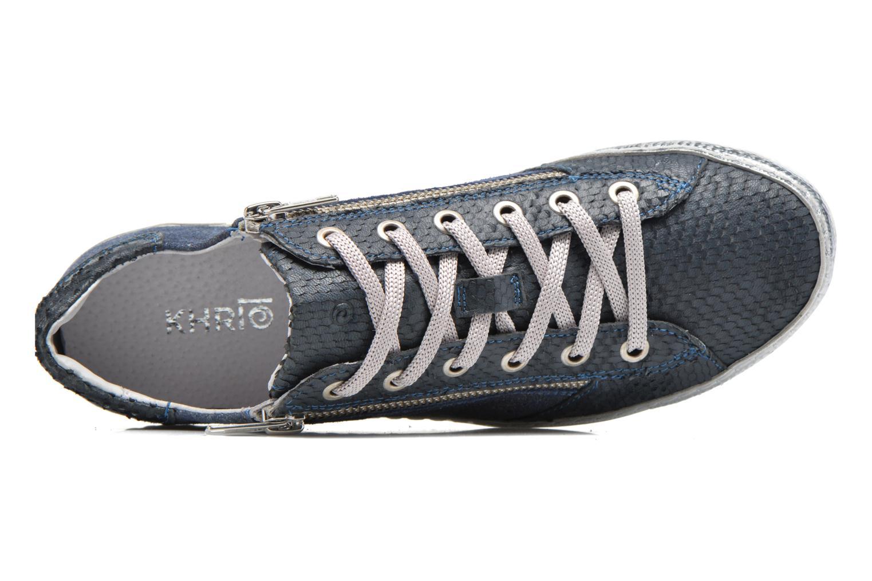 Sneakers Khrio Fiona Azzurro immagine sinistra