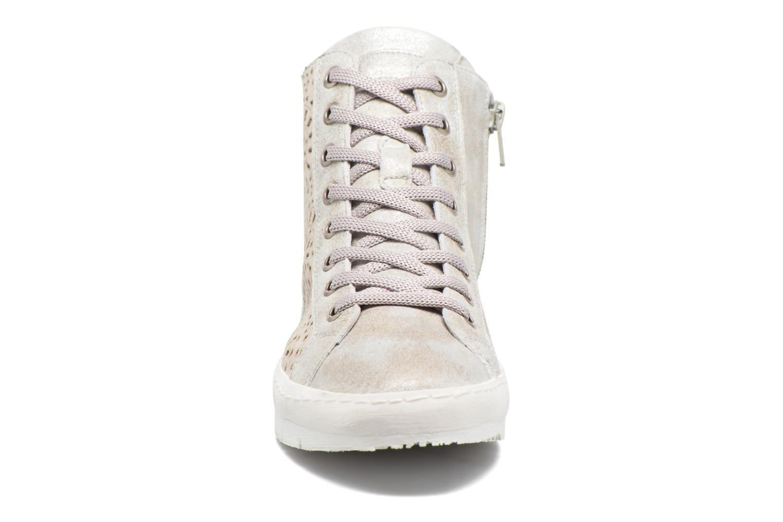 Baskets Khrio Cacilia Beige vue portées chaussures
