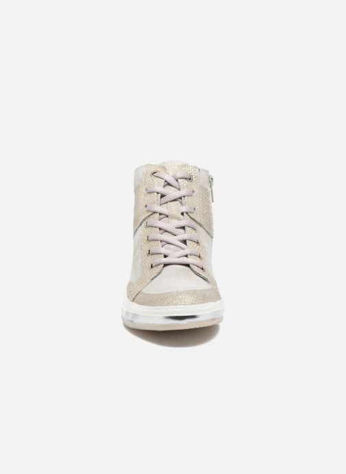 Baskets Khrio Calista Argent vue portées chaussures