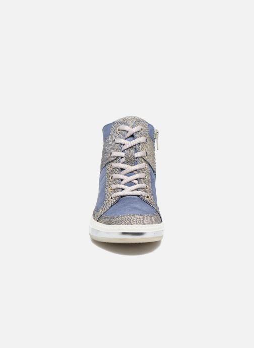 Baskets Khrio Calista Bleu vue portées chaussures