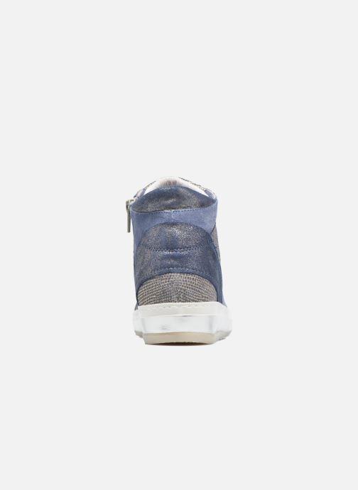 Baskets Khrio Calista Bleu vue droite