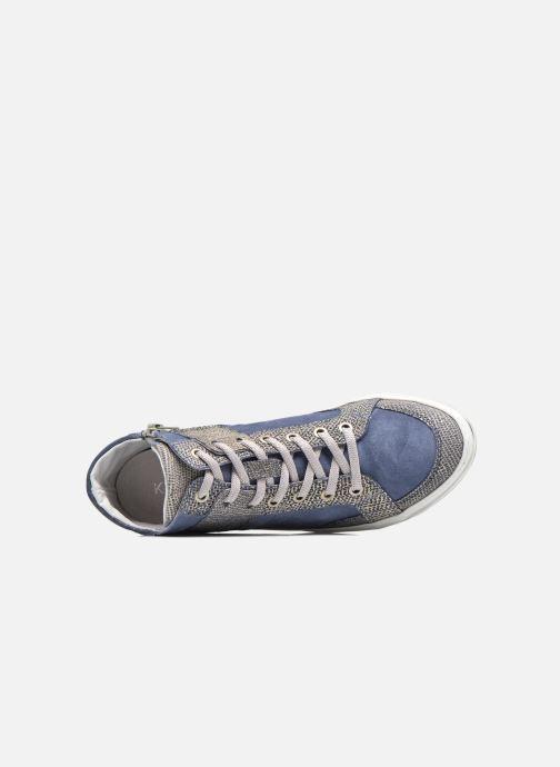 Baskets Khrio Calista Bleu vue gauche