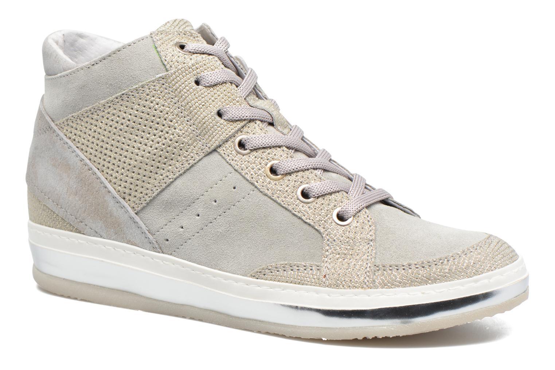 Khrio Calista (Argent) - Baskets en Más cómodo Chaussures femme pas cher homme et femme