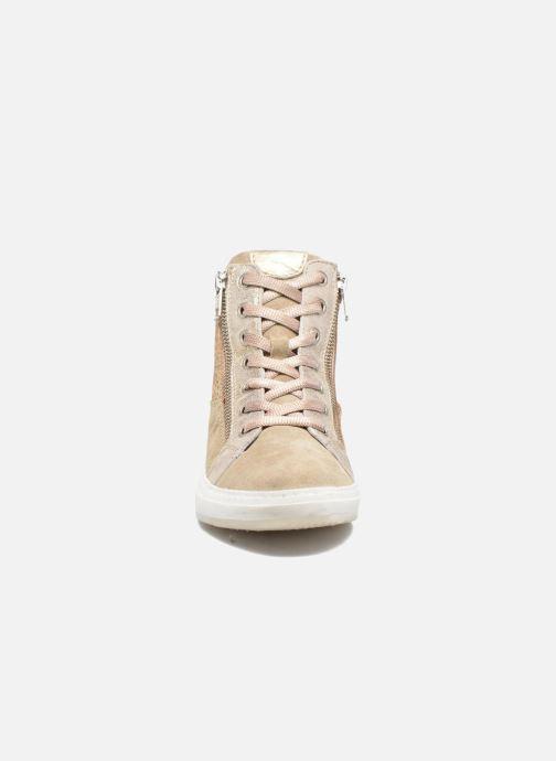 Baskets Khrio Calypso Beige vue portées chaussures