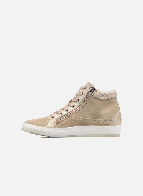 Sneakers Khrio Calypso Beige voorkant