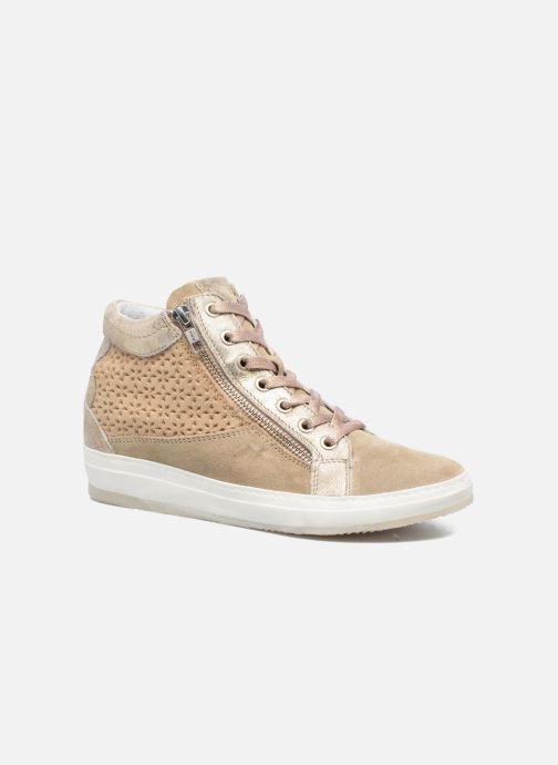 Baskets Khrio Calypso Beige vue détail/paire