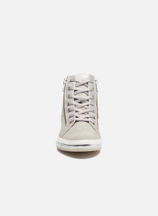 Baskets Khrio Carly Argent vue portées chaussures